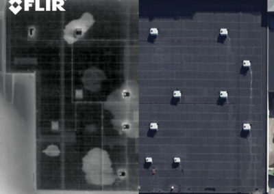 FLIR-IR-roof-water-damage